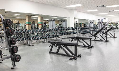 Dakotah! Sport Fitness Weight Room